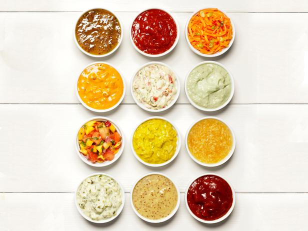 Condiments and Dips for Good Physique