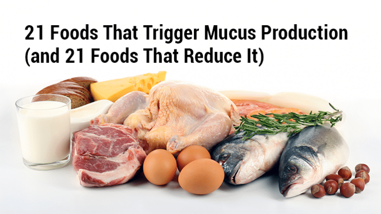 Natural Treatments For Increased Mucus Production