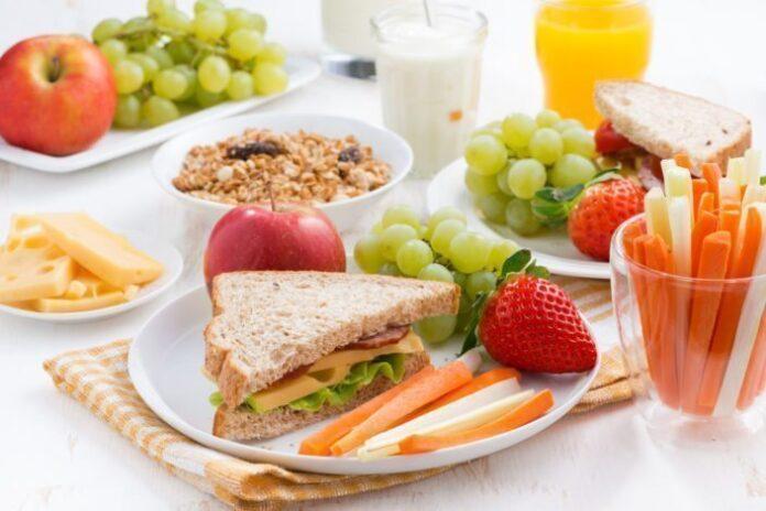 Low–calorie diet chart