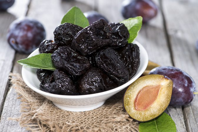 Health benefits of prunes