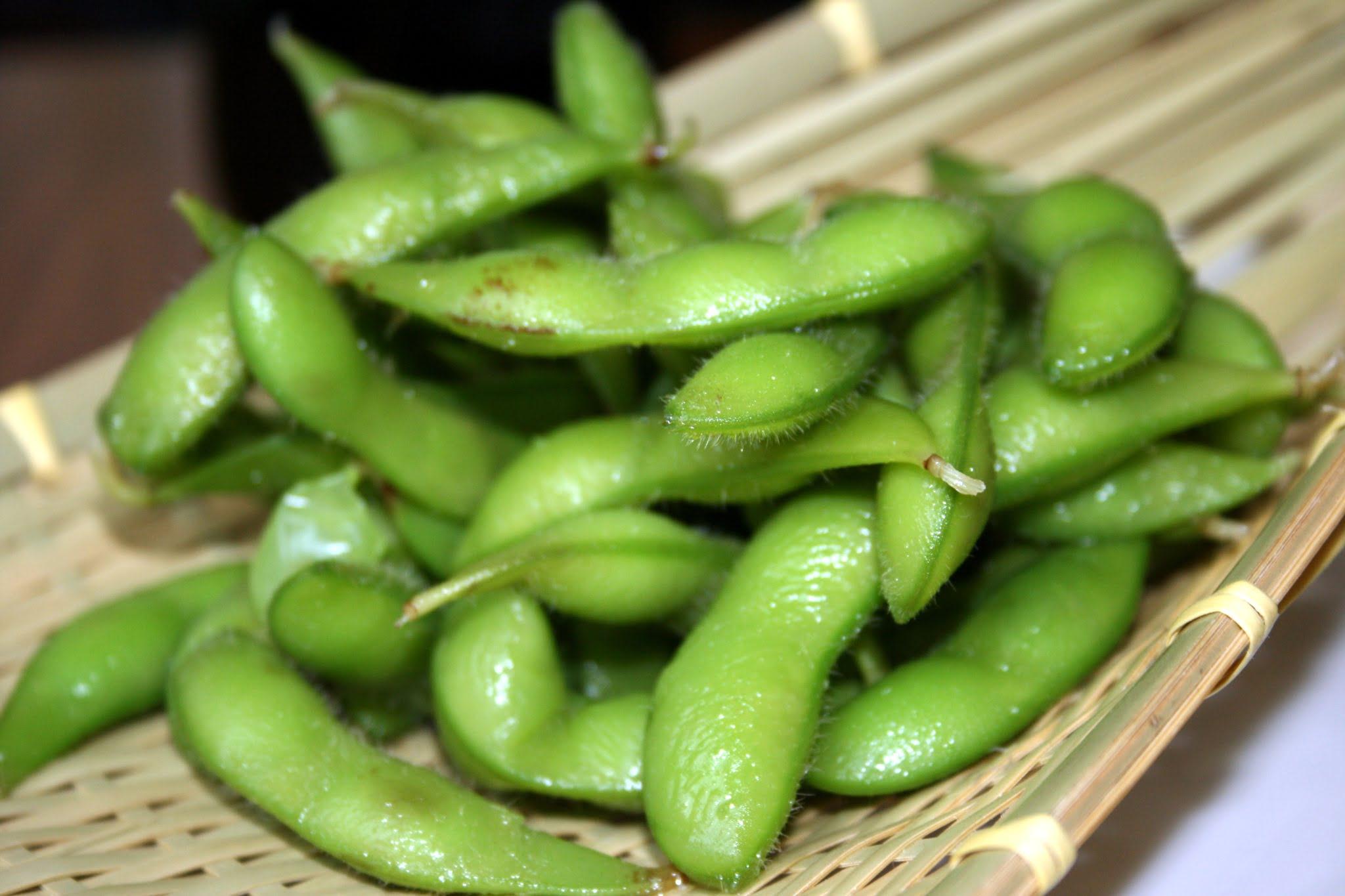 edamame, soybeans