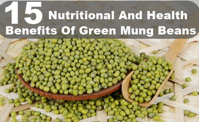 Green Mung Beans health benefits