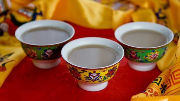 Health benefits of butter tea