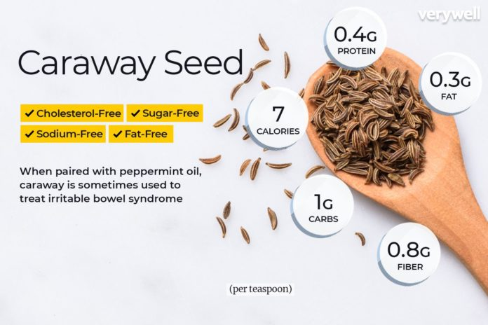 Health benefits of caraway seeds