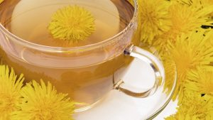 Health benefits of dandelion tea