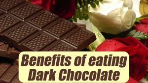 Dark chocolate prevents premature aging and treats anemia