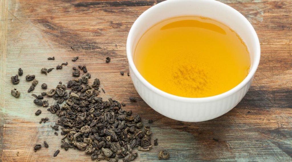 Health benefits of gunpowder green tea