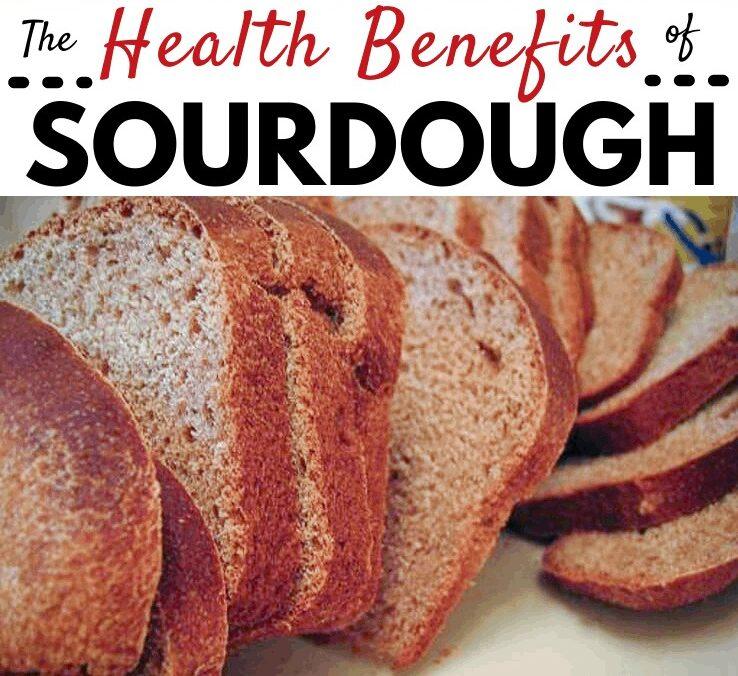 Health benefits of sourdough