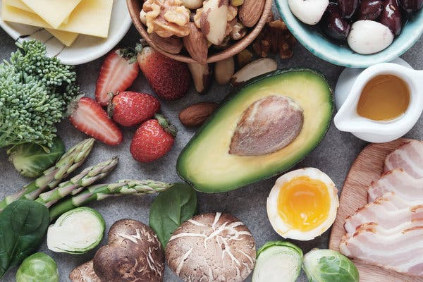 Health benefits of the keto diet