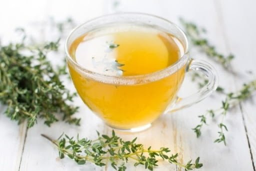 Health benefits of thyme tea