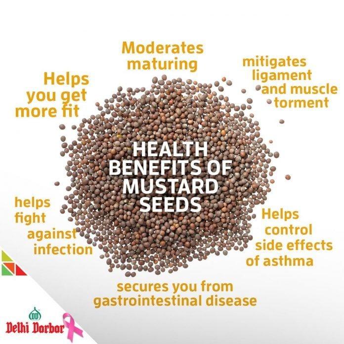 Mustard seeds health benefits