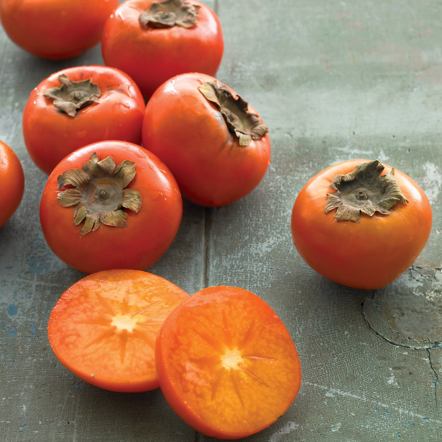 Persimmons have potassium in high amounts.