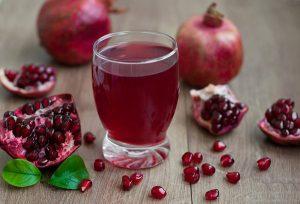 Pomegranate juice health benefits