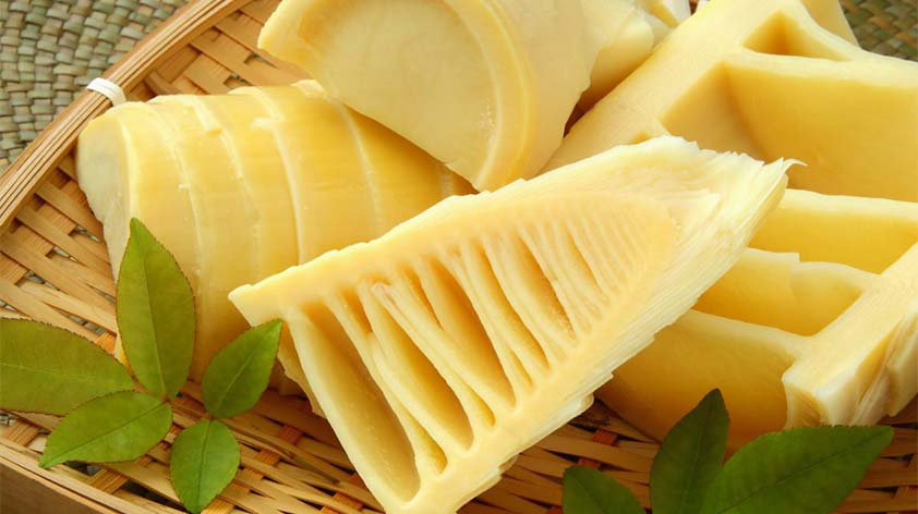 Health benefits of bamboo shoot