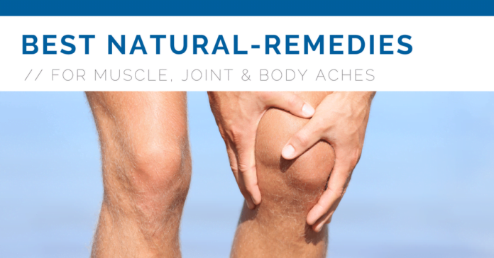 Natural Treatments For Body Pain