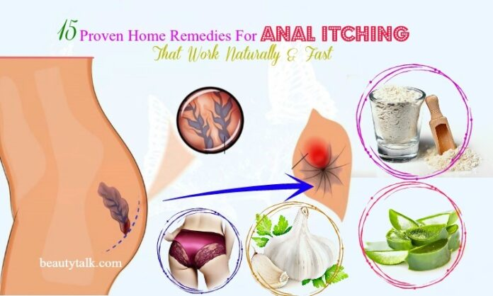 anal itching remedies
