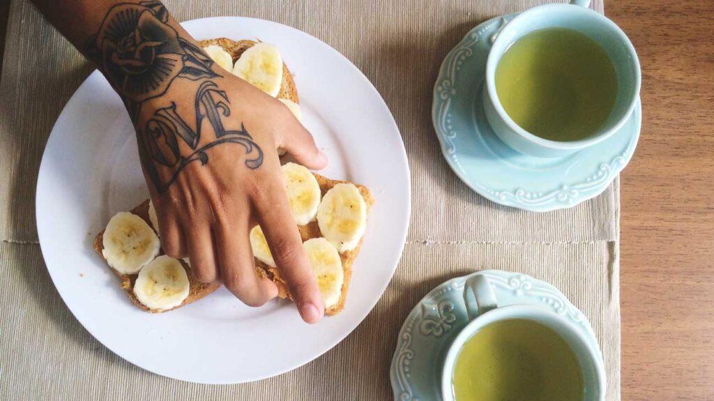 banana tea myth