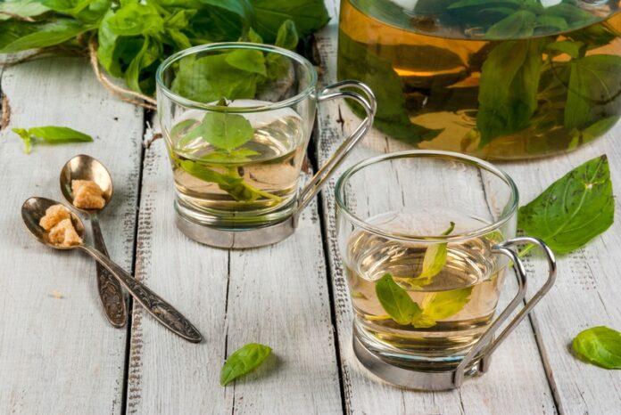 Health benefits of basil tea
