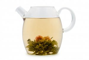 Health benefits of blooming tea