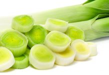 Health benefits of leeks