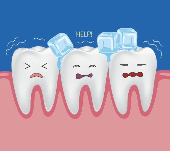 bonding resin for sensitive teeth