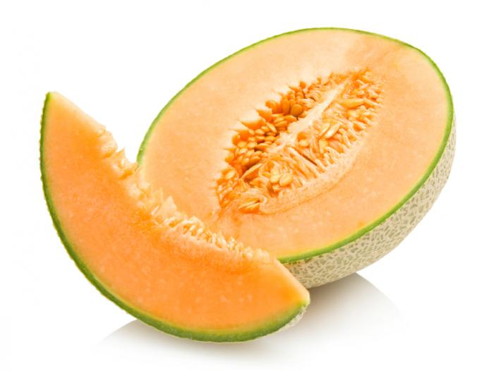 Health benefits of cantaloupe