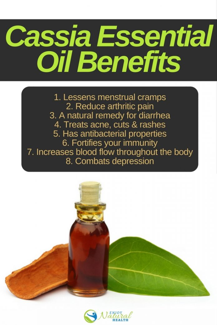 cassia essential oil health benefits