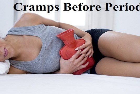 cramps before periods