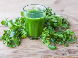 watercress juice