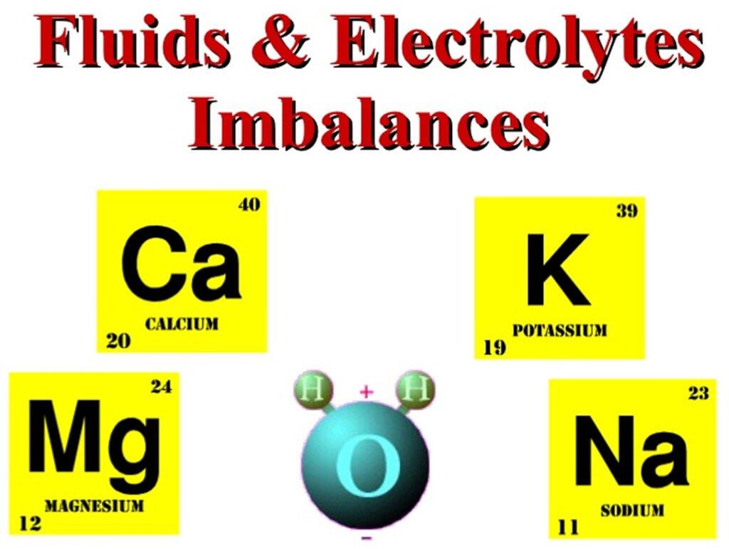 Electrolytic imbalance