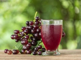 grape juice benefits and side effects