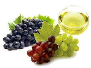grapes, broken capillaries treatment
