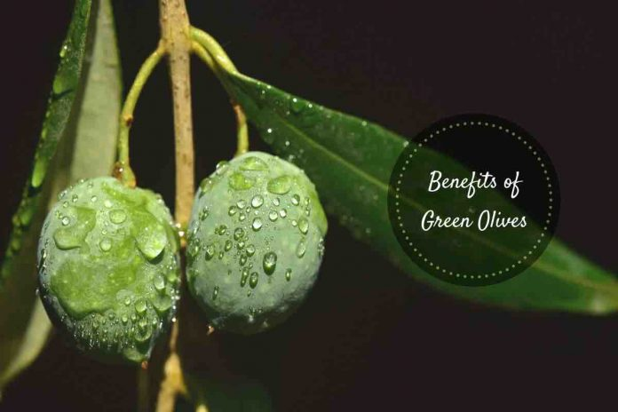 Health benefits of green olives