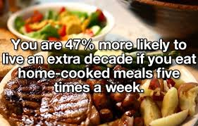 home cooked meals benefits