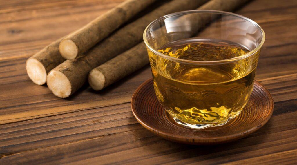 how often to drink burdock root tea
