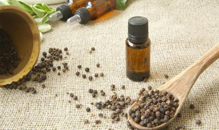 how to make black pepper essential oil