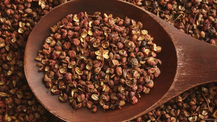 Health benefits of Sichuan pepper