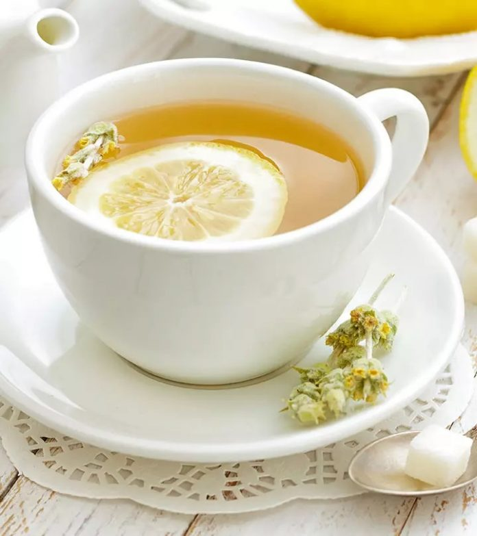 lemon tea benefits for cold