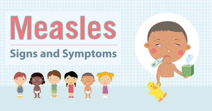 measles symptoms causes