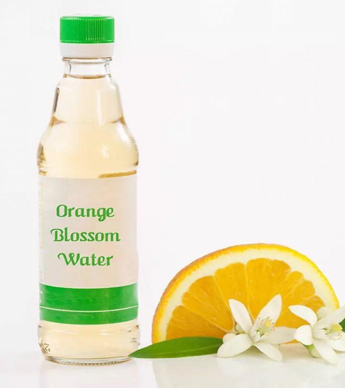 orange blossom water toner recipe
