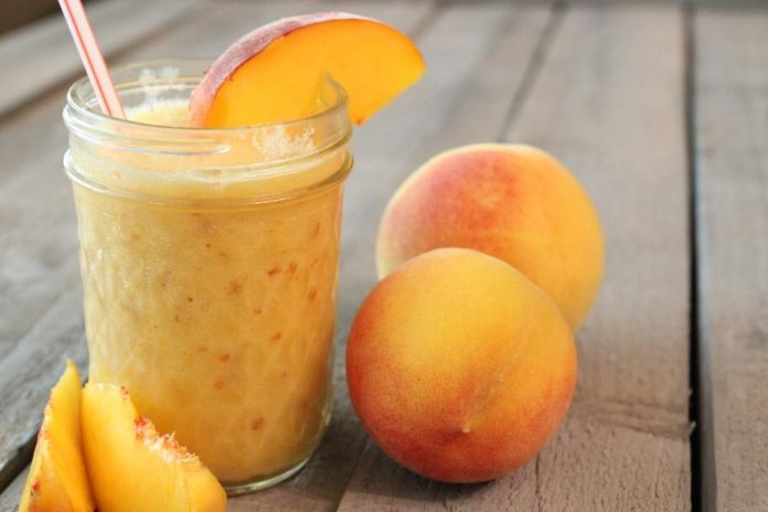 peach juice benefits