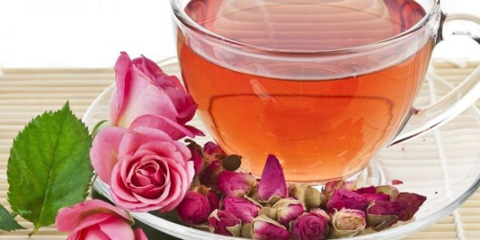 rose tea recipe