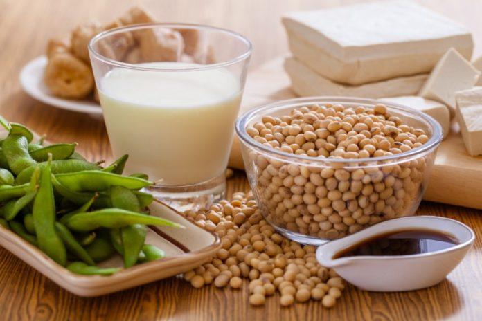 Health benefits of soy protein