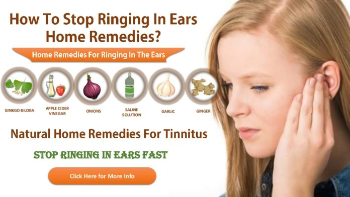 Tinnitus home remedy treatment